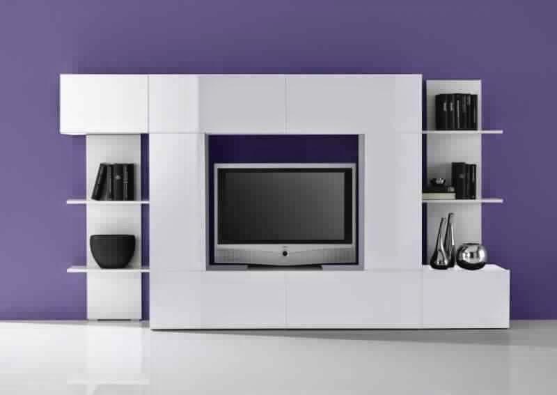 Meuble tv moderne avec rangement