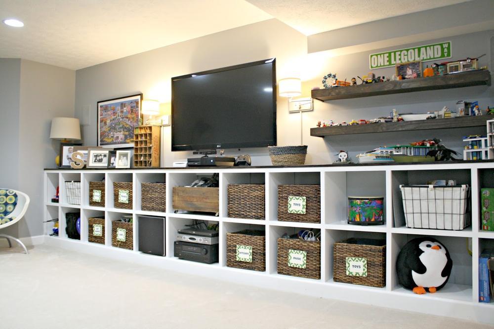 Meuble tv avec encadrement