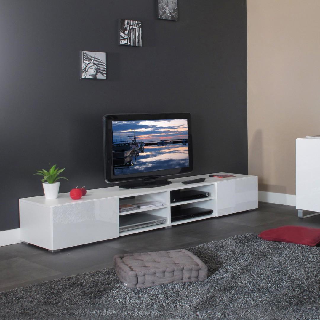 Meuble tv moderne bas