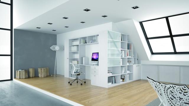 Bureau et meuble tv