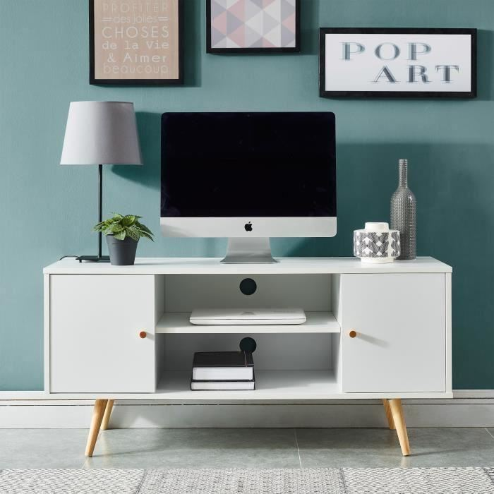 Petit meuble tv 70 cm longueur