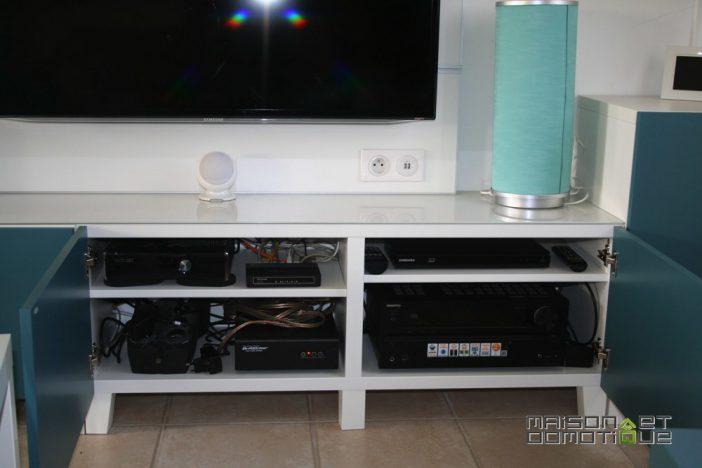 Meuble tv + ampli