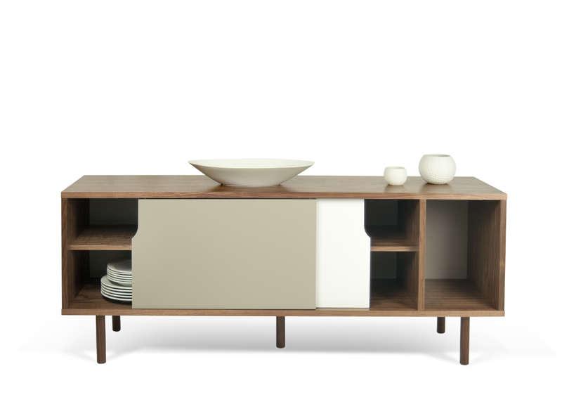 Buffet meuble tv blanc
