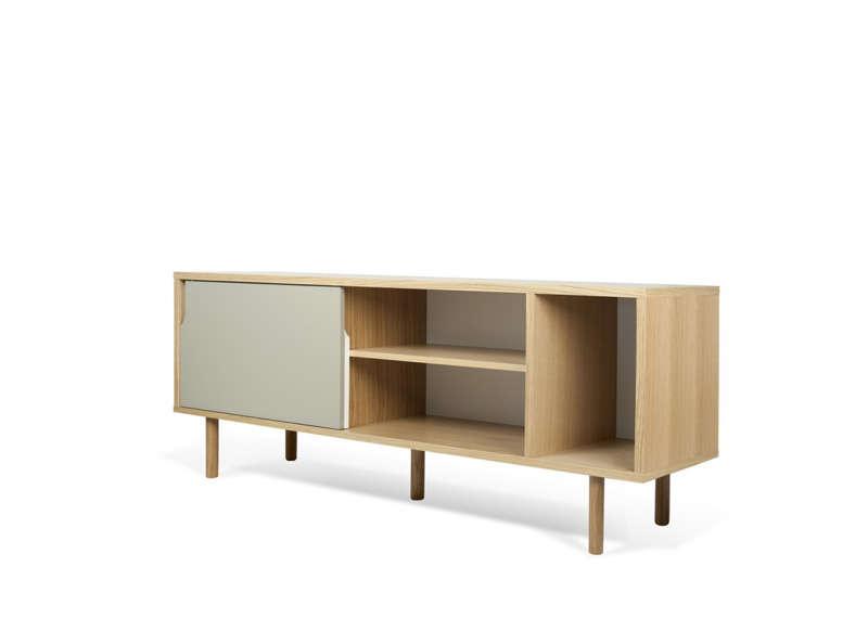 Meuble tv et table basse bois clair