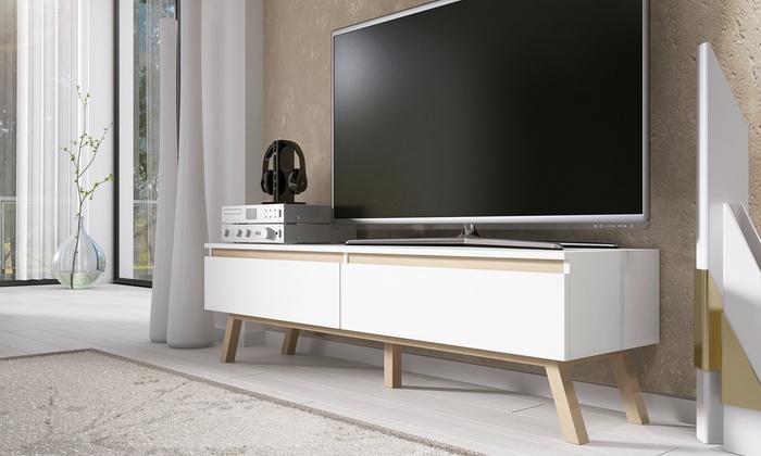 Groupon meuble tv scandinave