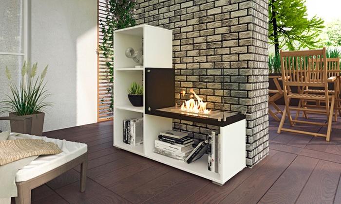 Groupon meuble tv cheminee