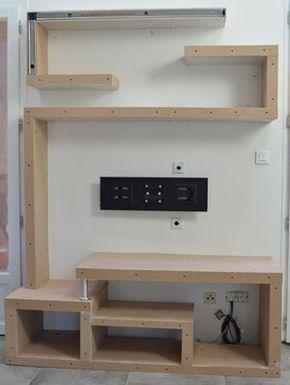 Comment faire un meuble tv en ba13