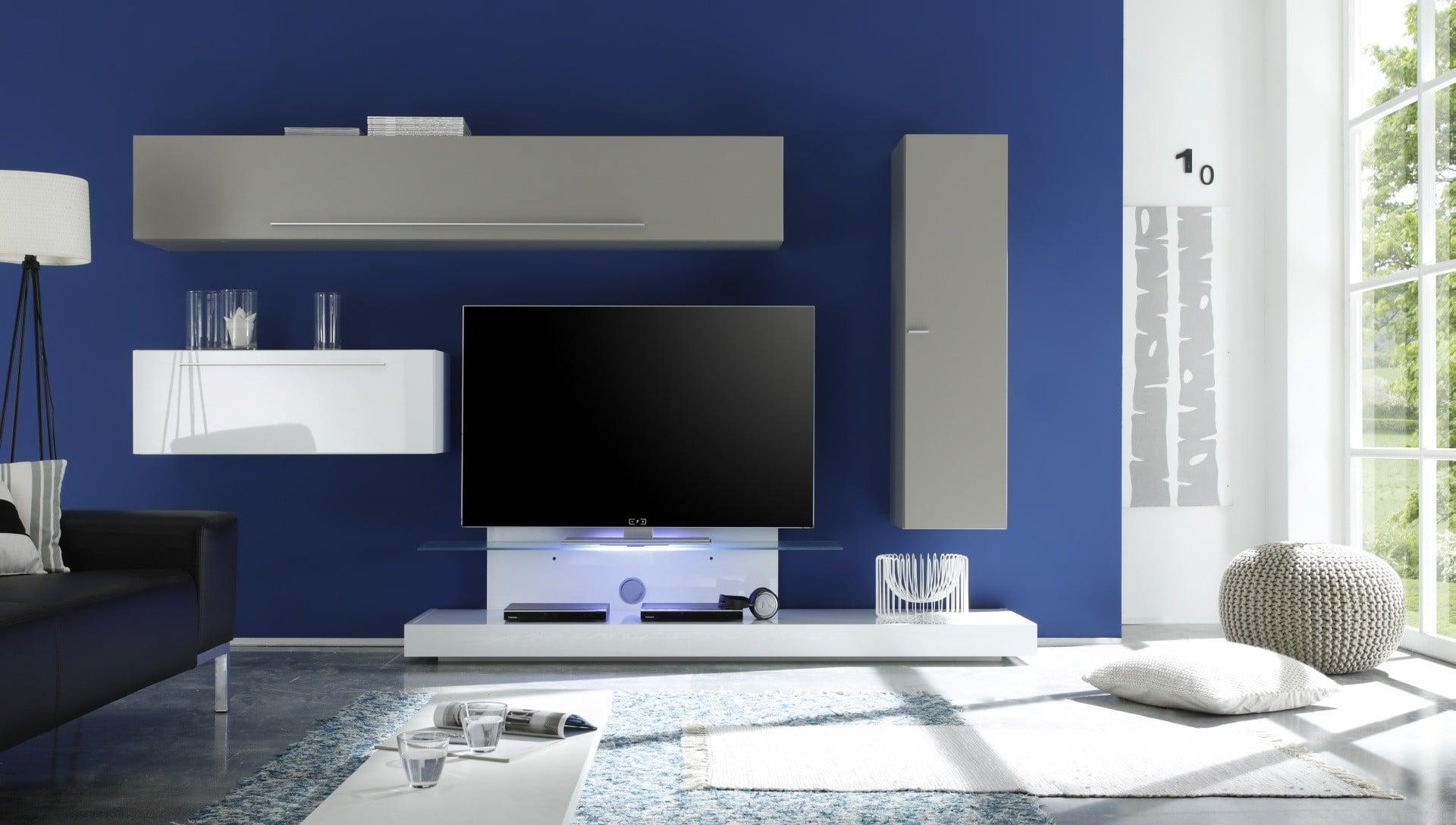 Composition meuble tv mural