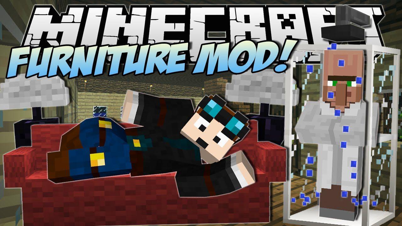 Minecraft meuble tv