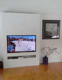 Fabriquer un meuble tv en carreau de platre