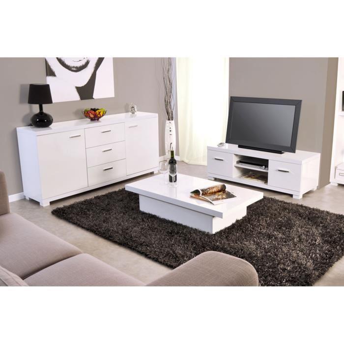 Ensemble meuble tv et table basse