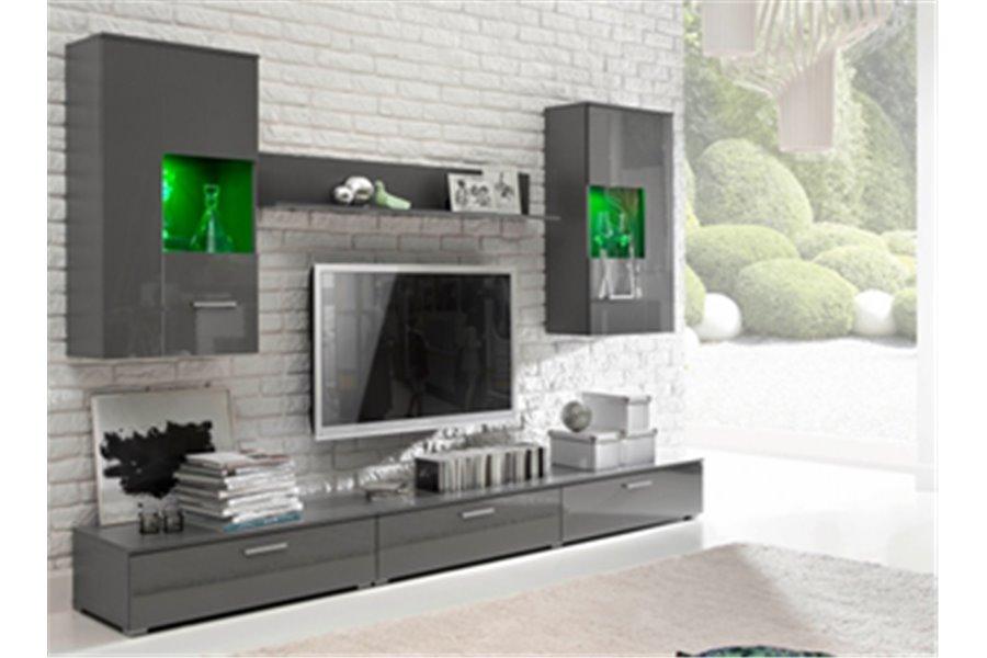 Meuble bois gris design