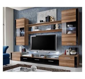 Meuble tv etagere noir