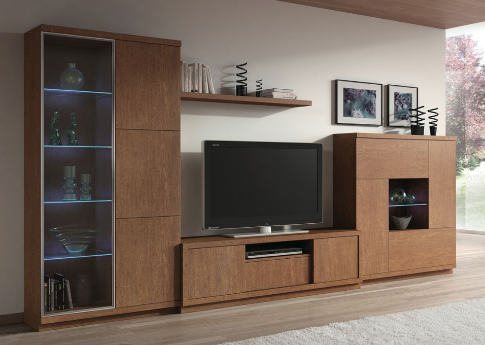 Ensemble meuble tv avec rangement