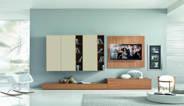 Meuble tv pastel