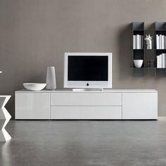 Meuble tv modern blanc