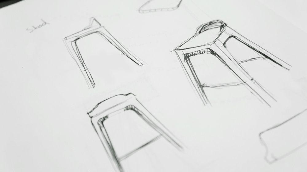 Croquis design meuble