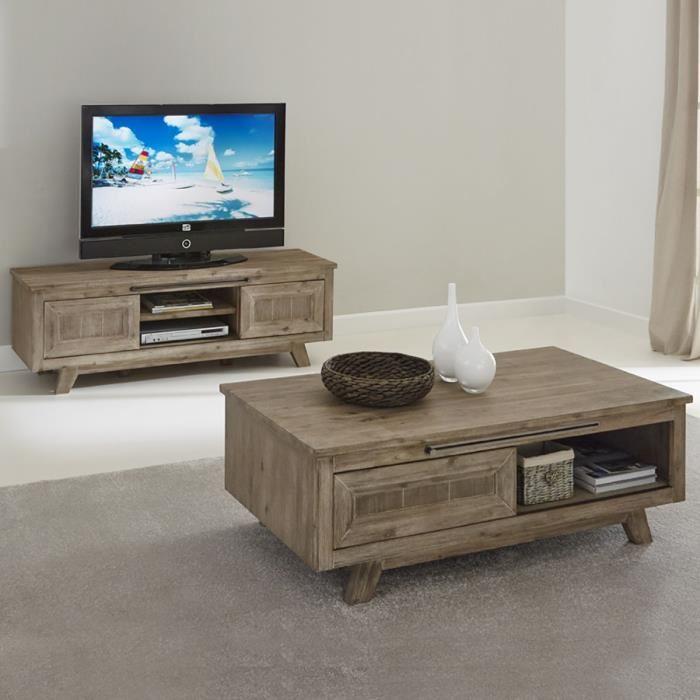 Ensemble meuble tv et table basse but