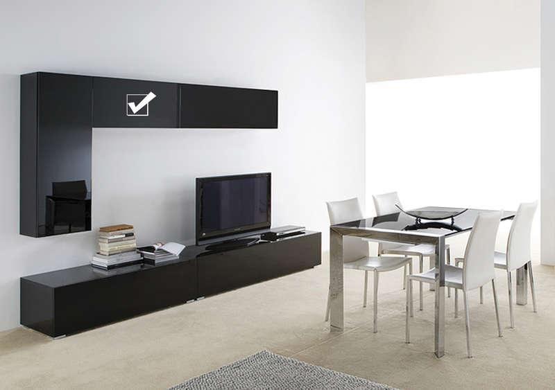 Skin meuble tv mural