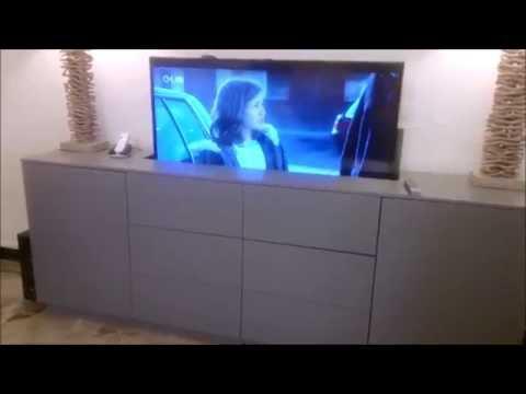 Meuble tv electrique