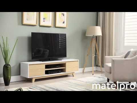 Meuble tv style recup