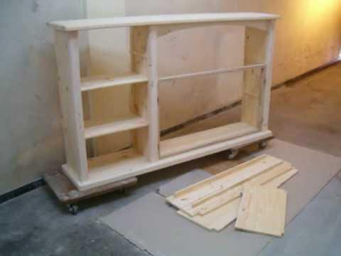 Faire meuble tv en contreplaqué