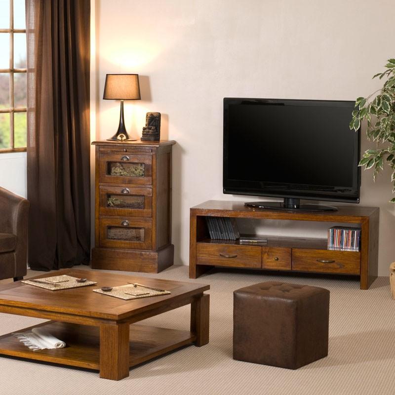 3 suisses meuble tv bois