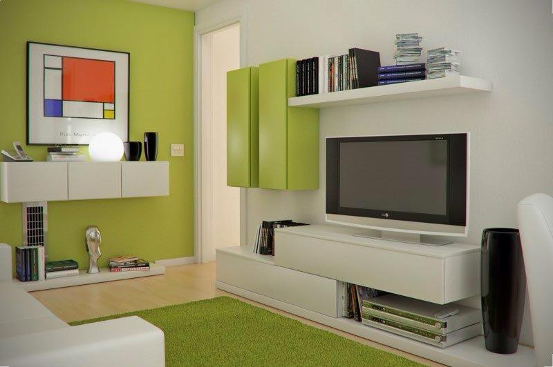 Aménagement salon meuble tv
