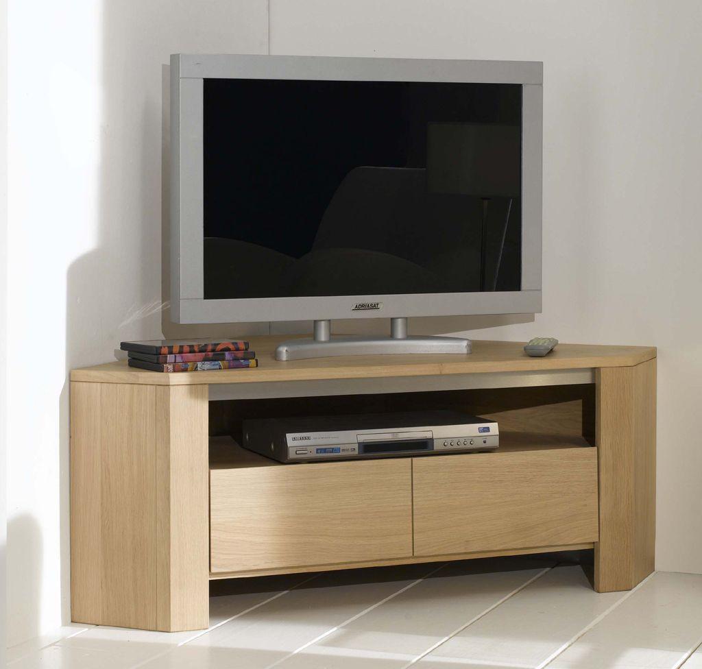 Meuble tv gris d angle