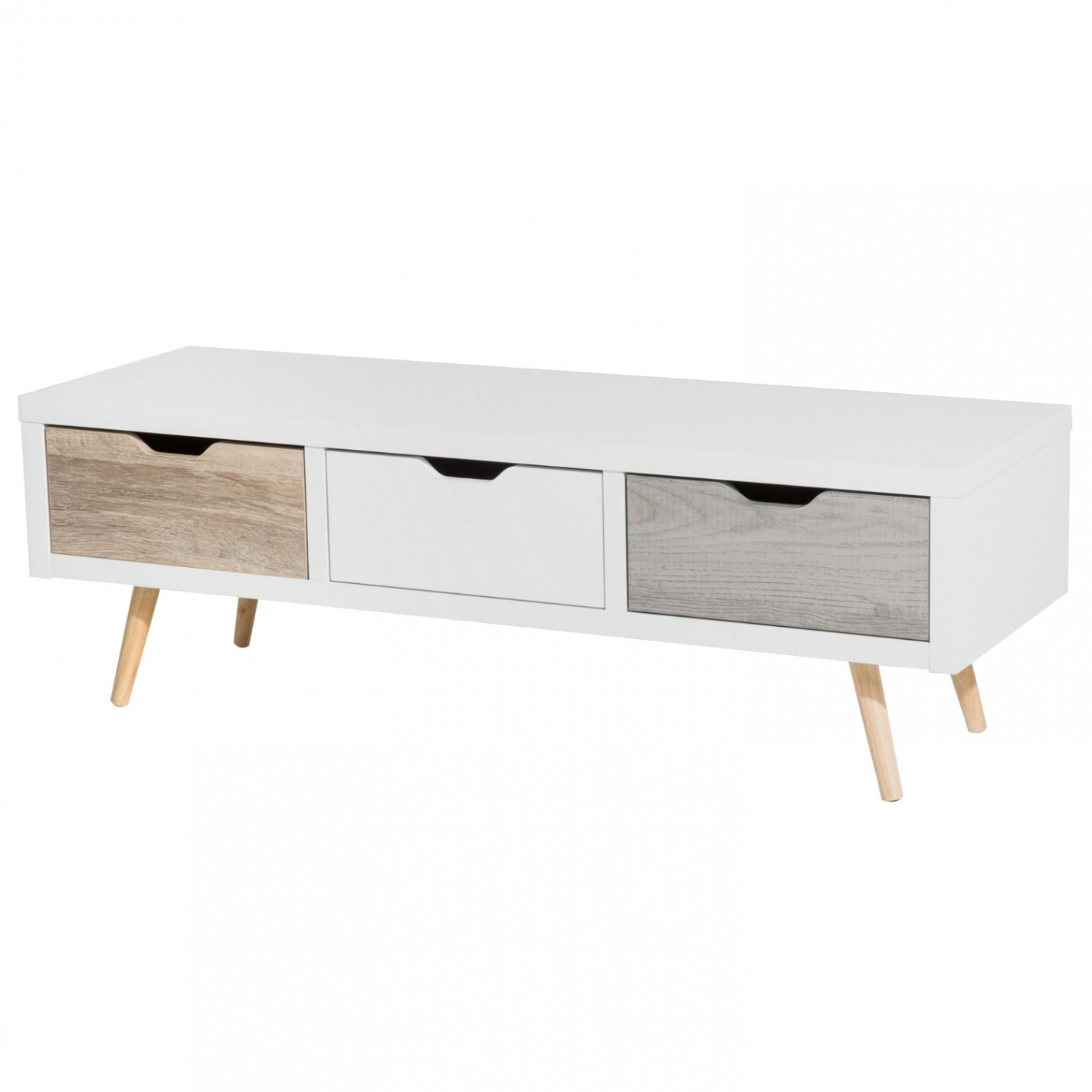 Meuble tv pied scandinave