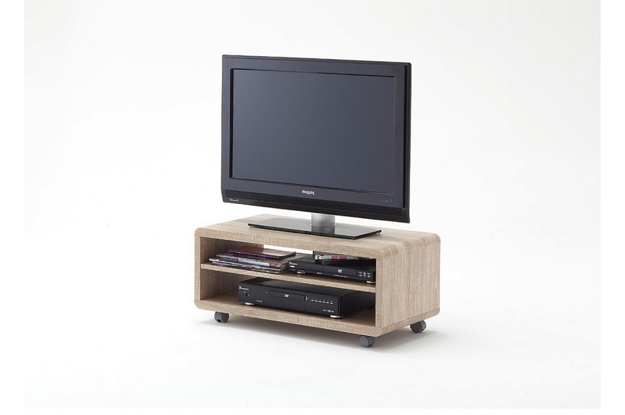 Petit meuble tv roulette pas cher