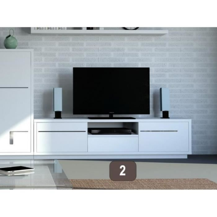 Meuble colonne tv 150 cm