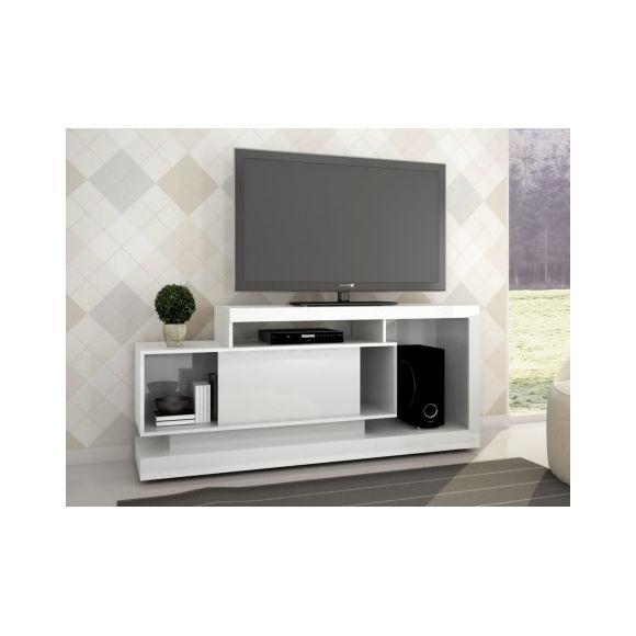 Meuble tv blanc laqué vente unique