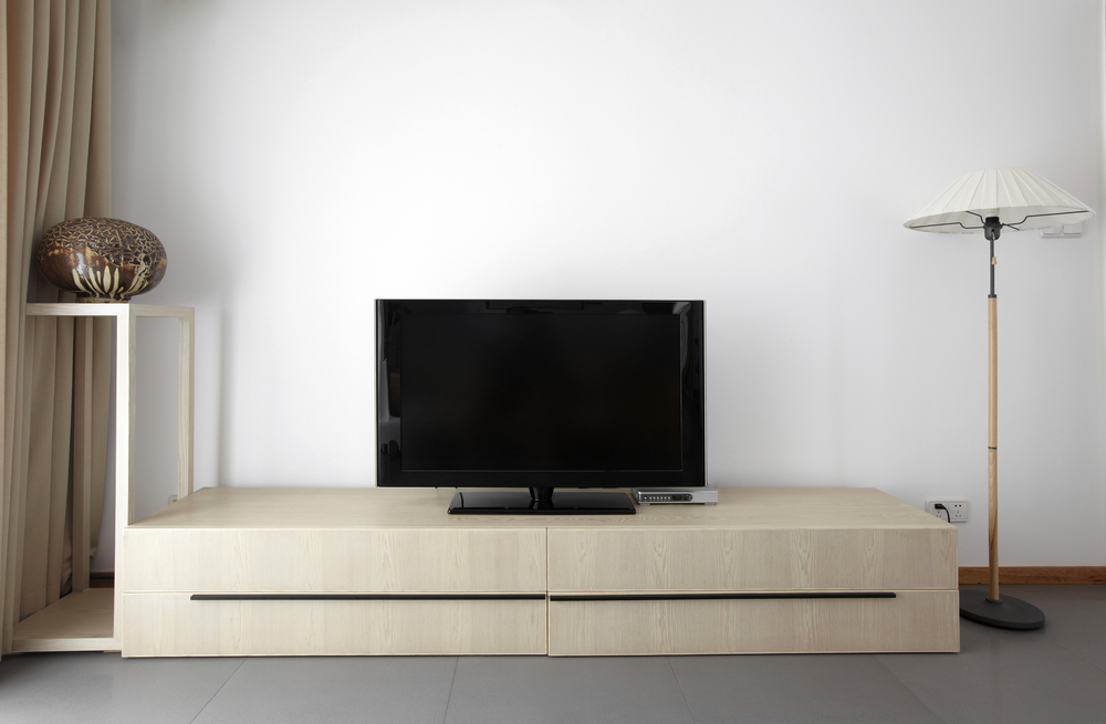 Meuble tv mural pour ecran plat