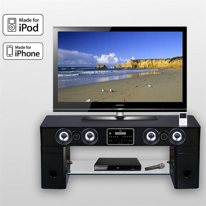 Meuble tv barre