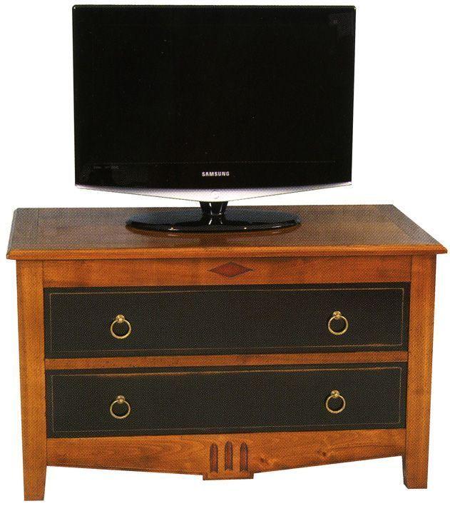 Grande tv sur petit meuble