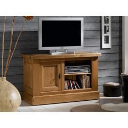 Meuble tv chene massif campagnard