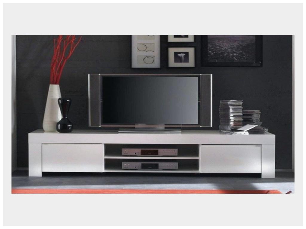 Meuble tv d'angle blanc but