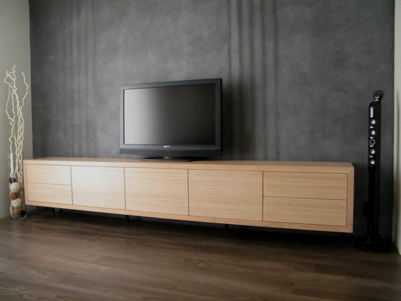 Meuble tv bois et chene