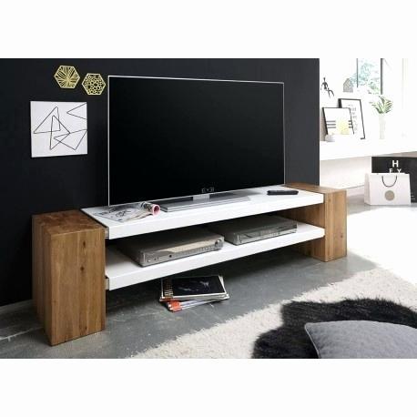 Ohio meuble tv mural 240 cm blanc et chêne gris