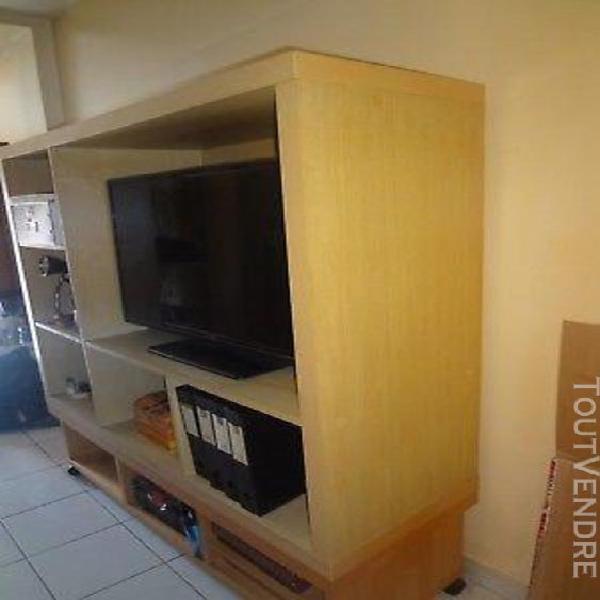 Meuble tv en cube