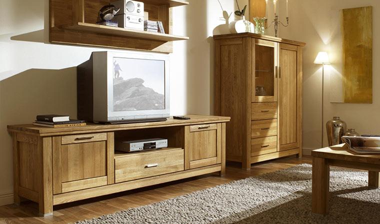 Meuble en chene massif tv