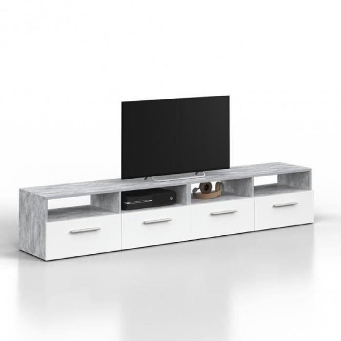 Fabriquer meuble tv siporex