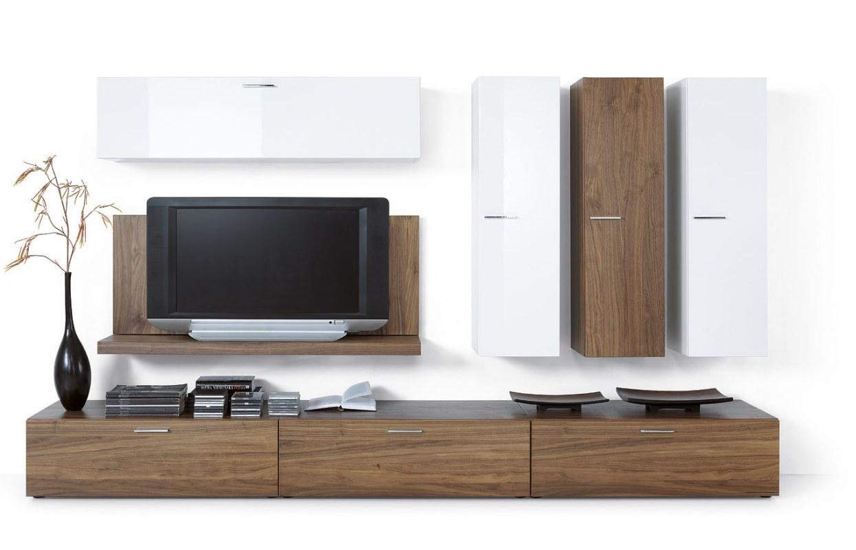 Meuble tv contemporain bois