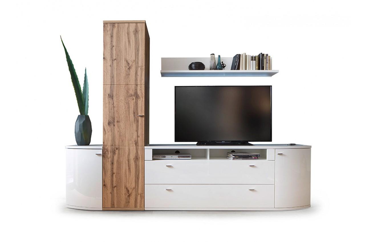 Construire meuble tv bois