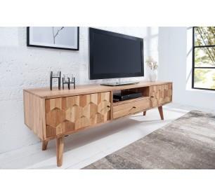 Meuble tv couleur bois naturel