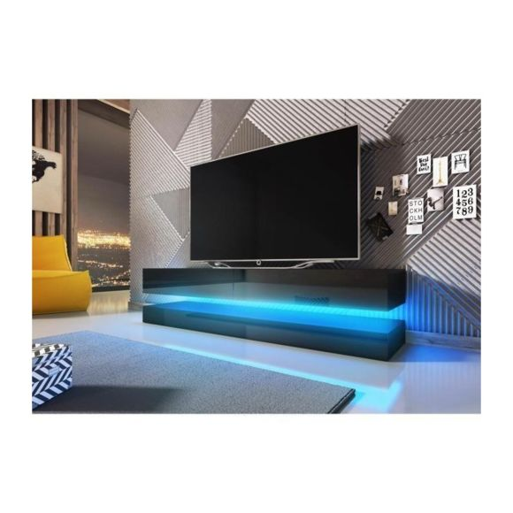 Meuble tv led 140cm