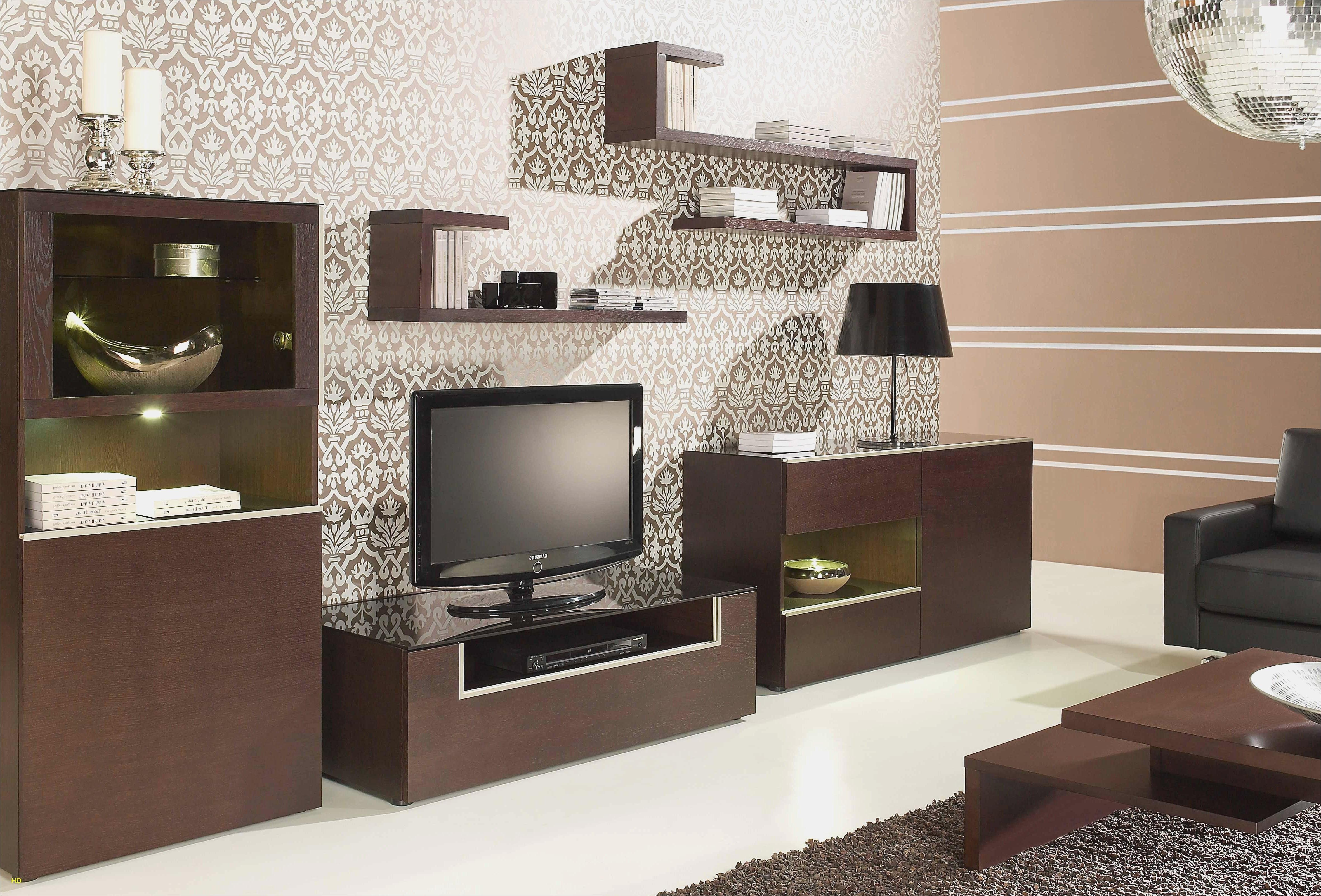 Meuble tv en chene massif blanc