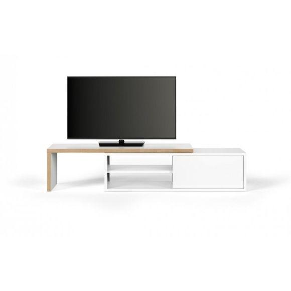 Meuble tv blanc boi