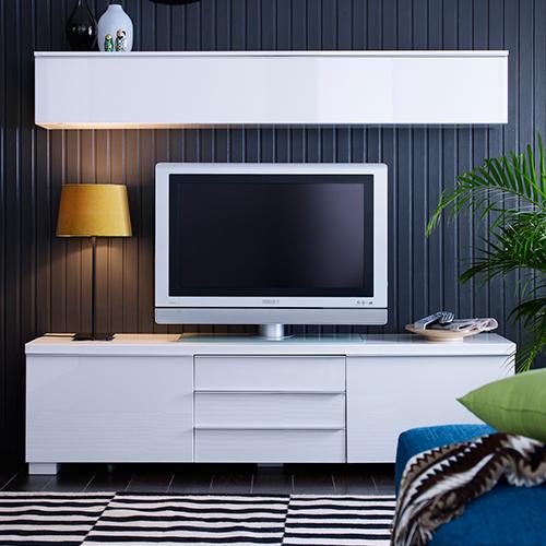 Meuble tv avec systeme audio